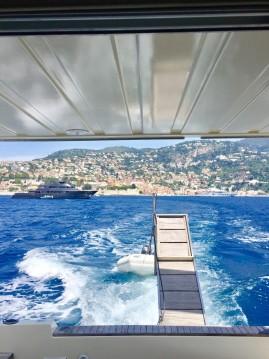 Location bateau Gianetti 38 FLY à Villefranche-sur-Mer sur Samboat