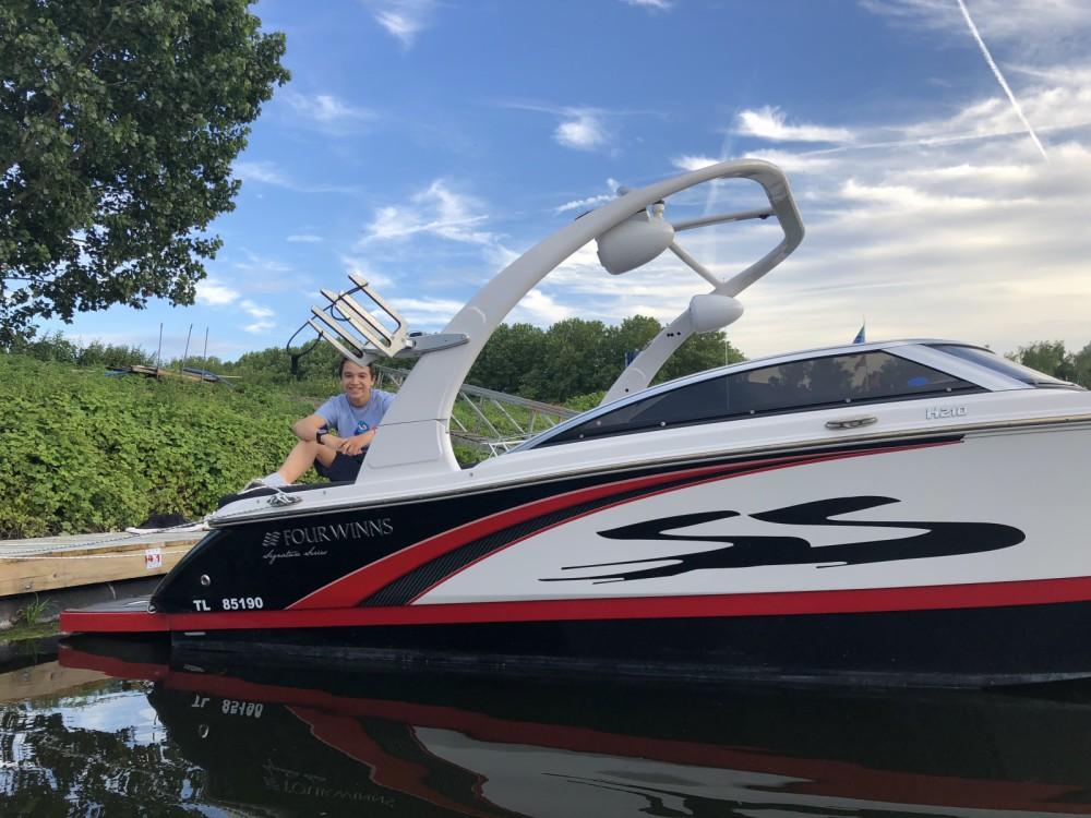 Jachthuur in Saint-Cloud - Four Winns H 210 SS via SamBoat