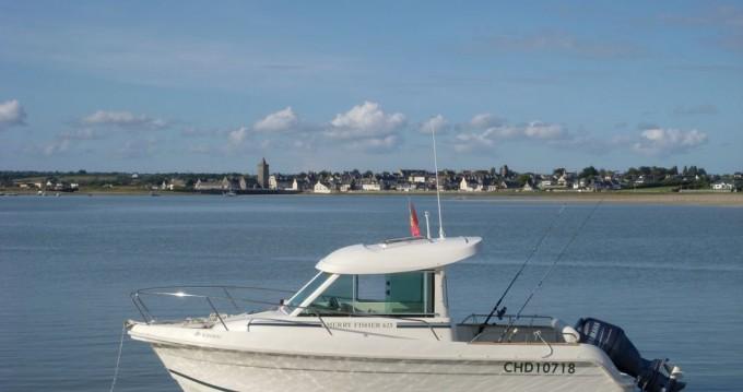 Boat rental Jeanneau Merry Fisher 625 HB in Barneville-Carteret on Samboat