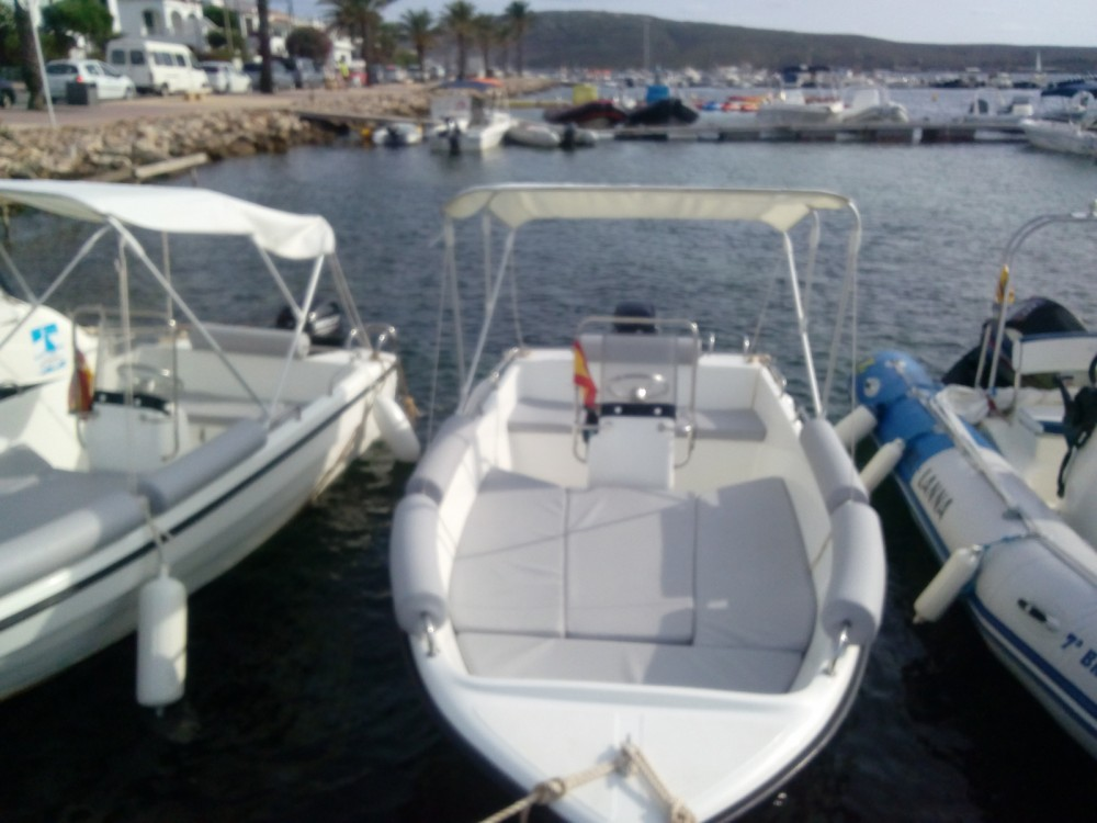 Boat rental Es Mercadal cheap Nacho 430
