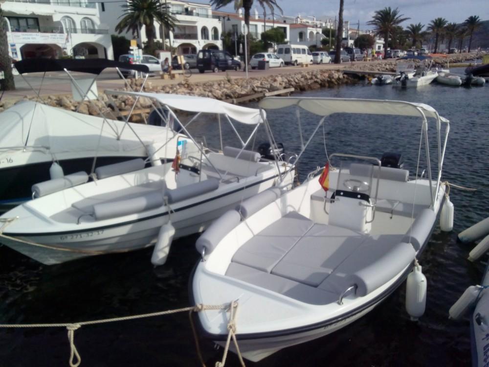 Location bateau Es Mercadal pas cher Len 430