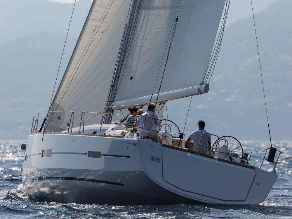 Bootverhuur Dufour Dufour 460 Grand Large (5cab/3wc) in Marina de Alimos via SamBoat