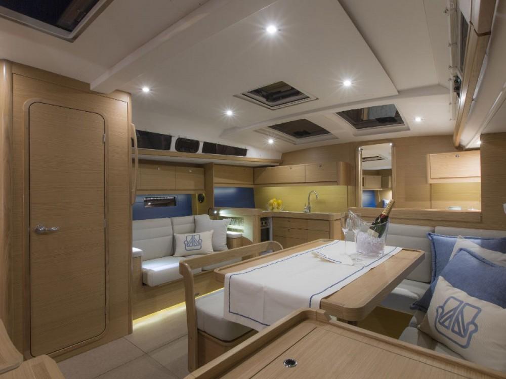 Verhuur Zeilboot in Marina de Alimos - Dufour Dufour 460 Grand Large (5cab/3wc)