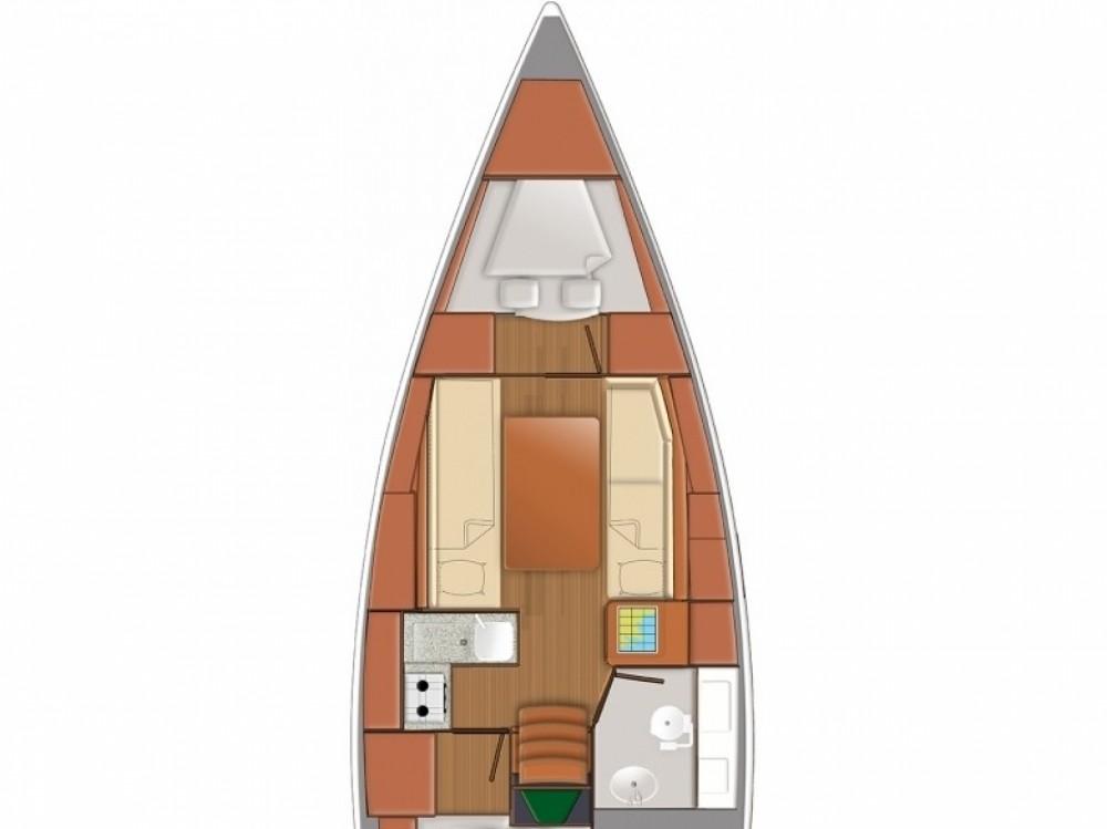 Huur een Jeanneau Sun Odyssey 319 in Follonica
