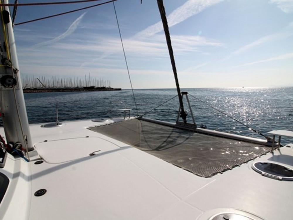 "Verhuur Catamaran in Νέος Μαρμαράς - Fountaine Pajot FOUNTAIN PAJOT Lavezzi 40 ""VICTORIA"""