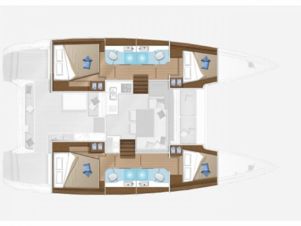 Bootverhuur ACI Marina Split goedkoop Lagoon 40