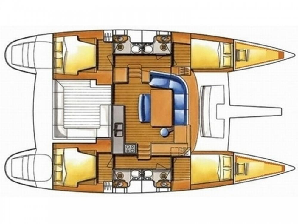 Rental Catamaran in Road Town - Lagoon Lagoon 400