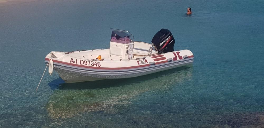 Joker Boat Clubman 19 between personal and professional Porto-Vecchio