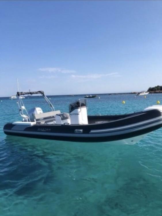 Bootverhuur Porto-Vecchio goedkoop Master 650