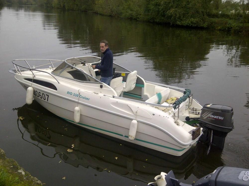 Rental Motor boat in Grez-Neuville - Rio Rio 550 Cruiser