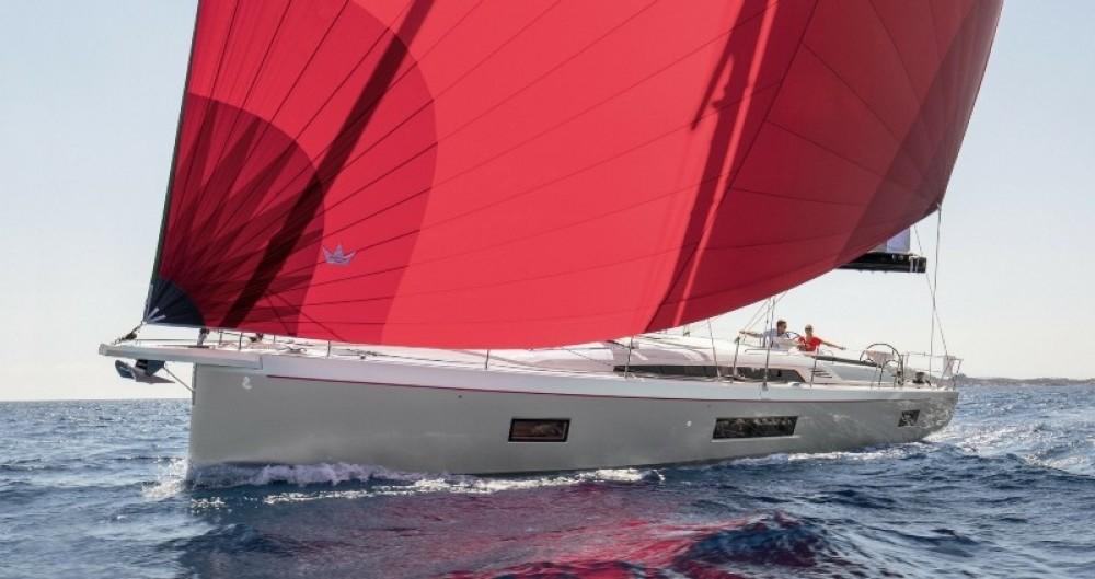 Boat rental Rhodes cheap Oceanis 51.1