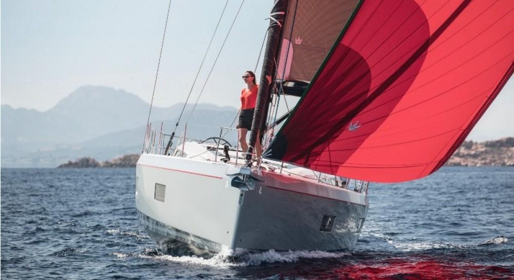 Bénéteau Oceanis 51.1 between personal and professional Rhodes