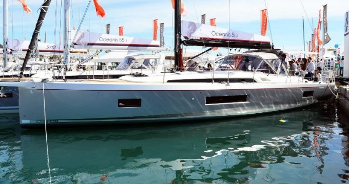 Boat rental Rhodes cheap Oceanis 51.1