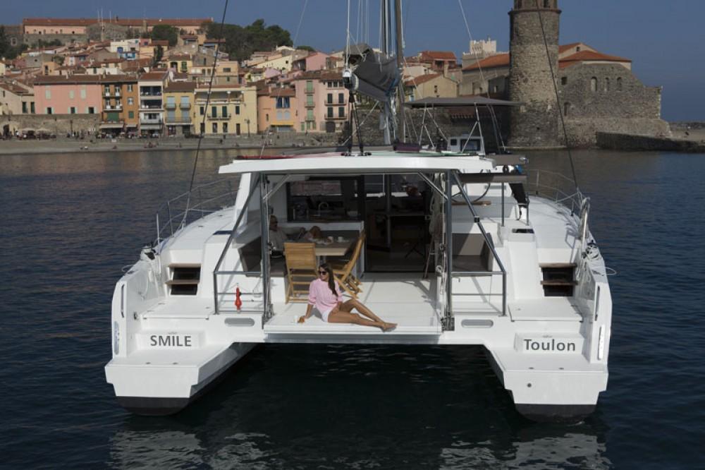Catamaran te huur in South Abaco voor de beste prijs