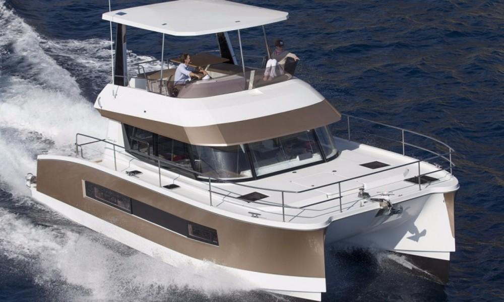 Huur Catamaran met of zonder schipper Fountaine Pajot in Nouméa