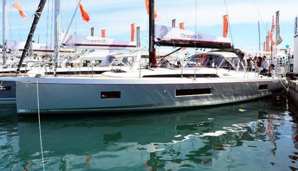 Bootverhuur Le Marin goedkoop Oceanis 51.1