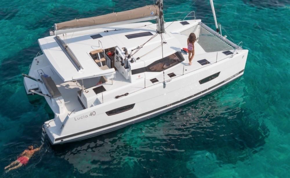 Verhuur Catamaran in Korfoe - Fountaine Pajot Fountaine Pajot