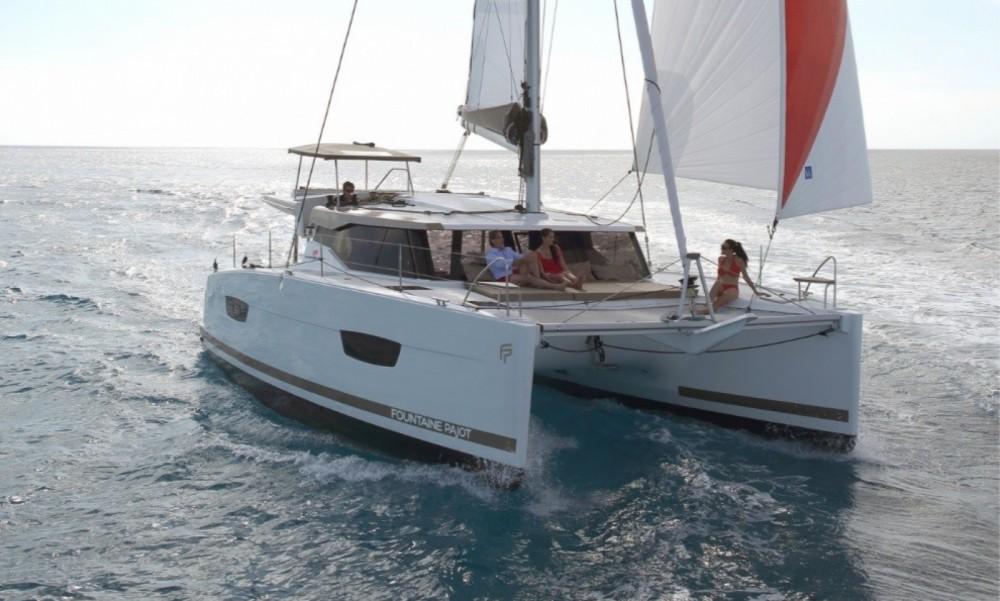 Huur Catamaran met of zonder schipper Fountaine Pajot in Korfoe