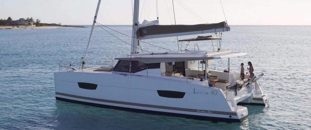 Location bateau Fountaine Pajot Lucia 40 à Annapolis sur Samboat