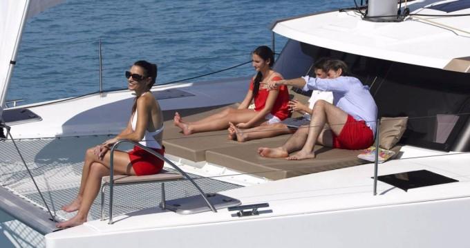 Location bateau Annapolis pas cher Lucia 40