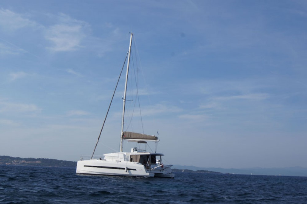 Verhuur Catamaran in Baie Sainte Anne - Catana Bali 4.5