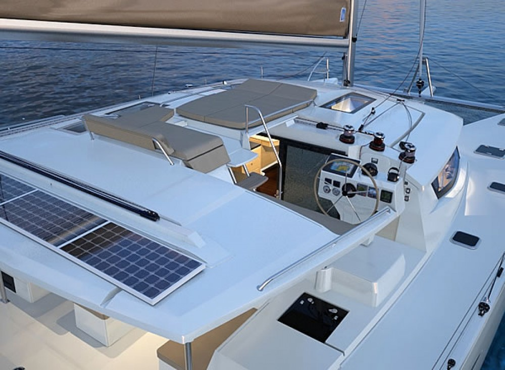 Boat rental Arnos Vale cheap Helia 44