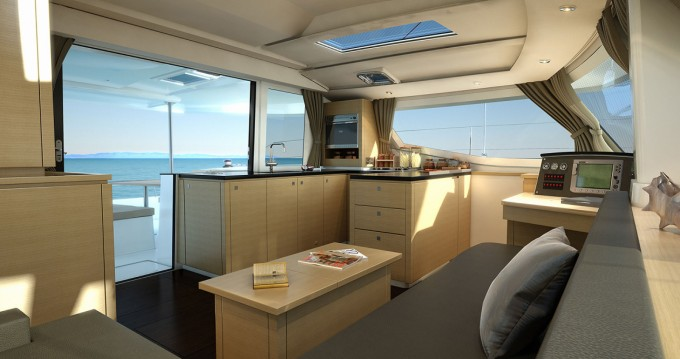 Fountaine Pajot Helia 44 between personal and professional Arnos Vale