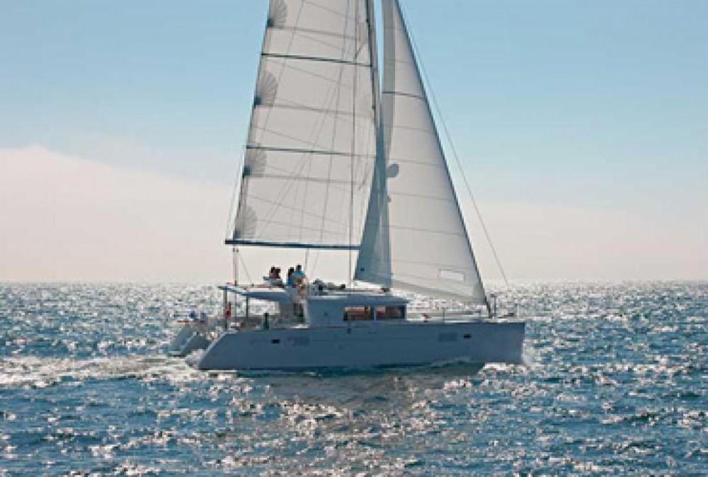Verhuur Catamaran in Road Town - Lagoon Lagoon 450