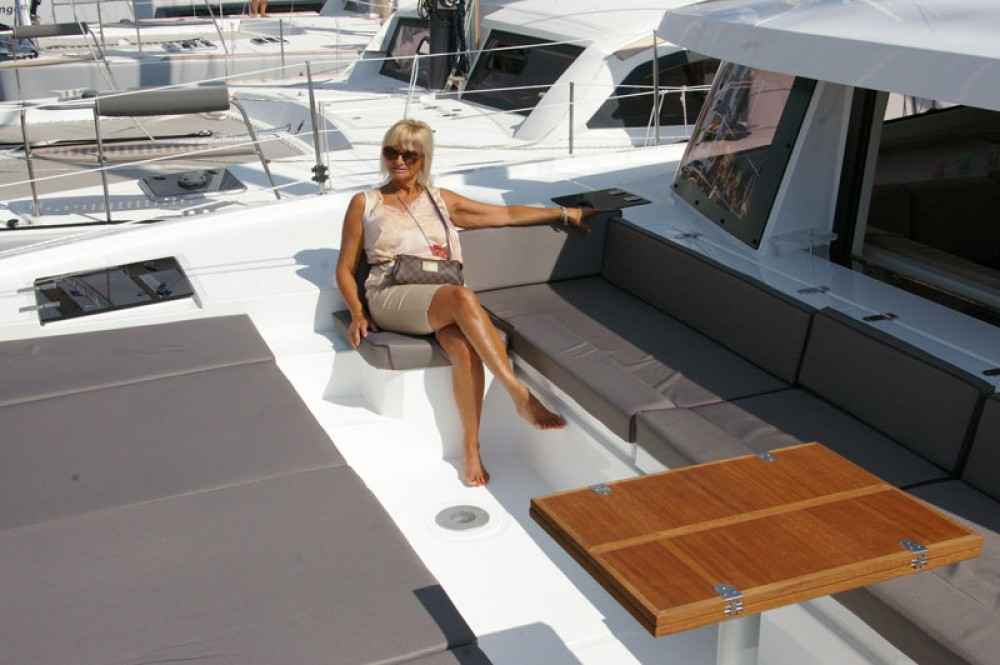 Verhuur Catamaran in Papeete - Catana Bali 4.5