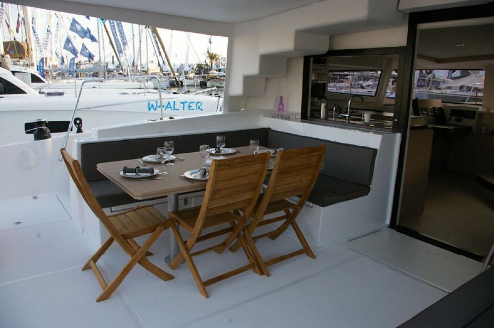 Verhuur Catamaran in Papeete - Catana Bali 4.5