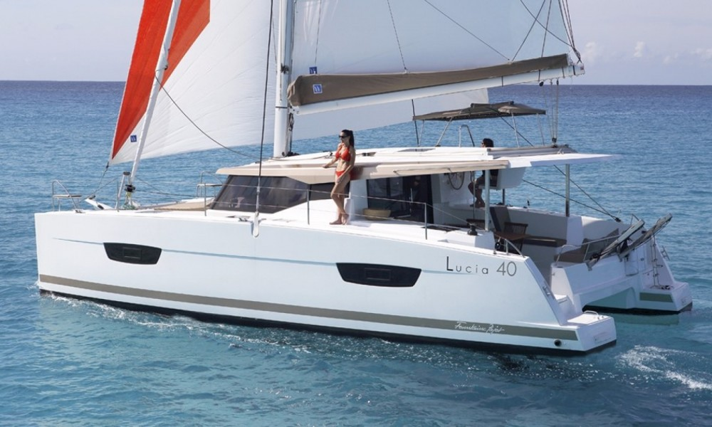 Jachthuur in South Abaco - Fountaine Pajot Lucia 40 via SamBoat