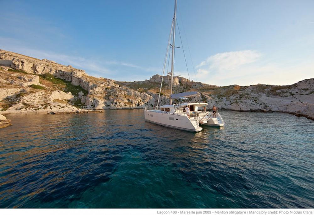Bootverhuur Greece goedkoop Lagoon 400