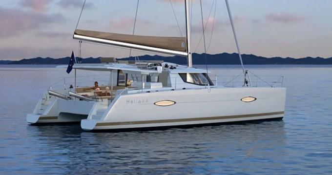 Location bateau Fountaine Pajot Helia 44 à Baie Sainte Anne sur Samboat