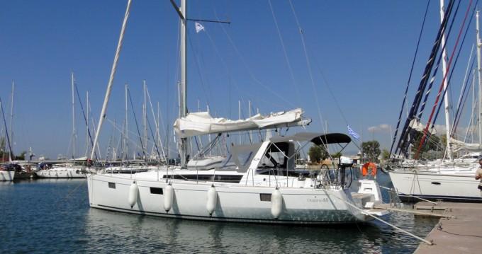 Bénéteau Oceanis 48 zwischen Privatpersonen und professionellem Anbieter Trogir