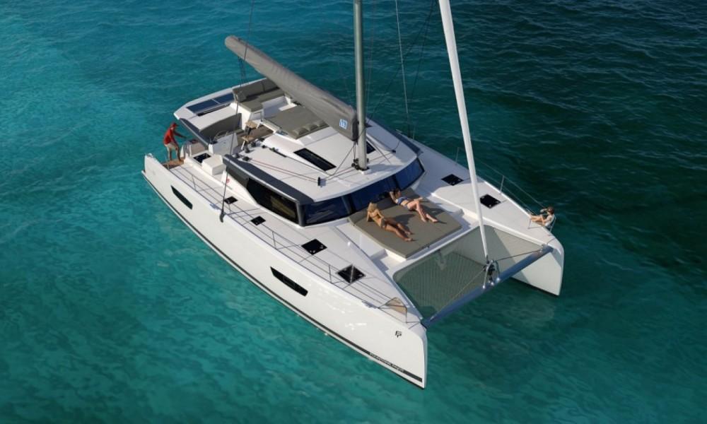 Louer Catamaran avec ou sans skipper Fountaine Pajot à Le Marin