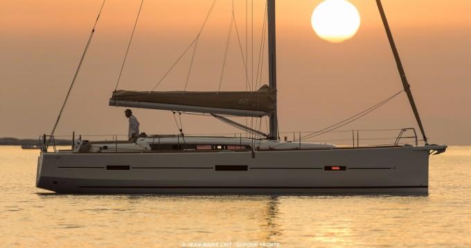 Segelboot mieten in Pointe-à-Pitre - Dufour Dufour 460 Grand Large