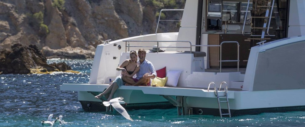 Location yacht à South Abaco - Fountaine Pajot MAESTRO 37 sur SamBoat