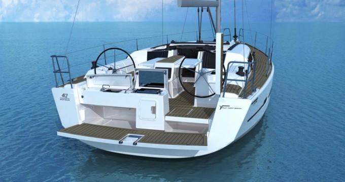 Location bateau Porto Rico pas cher Dufour 412