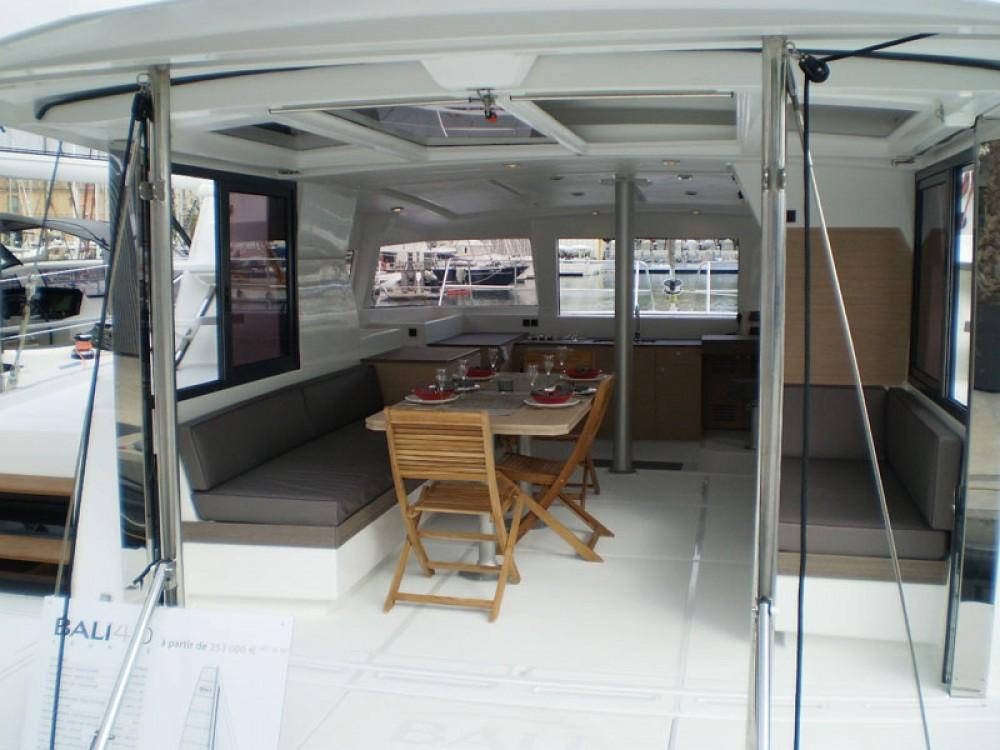 Bali Catamarans Bali 4.0 entre particuliers et professionnel à Le Marin