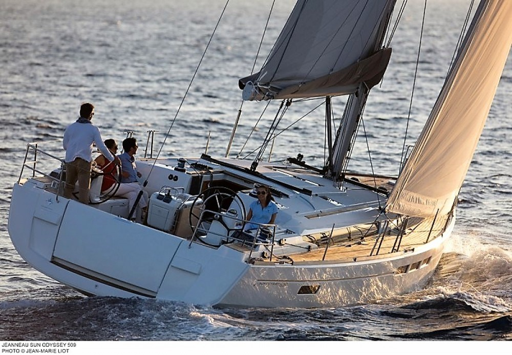 Boat rental Jeanneau Sun Odyssey 509 in  on Samboat