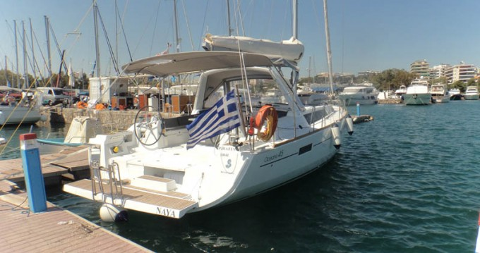 Location bateau Bénéteau Oceanis 45 à Παροικιά sur Samboat