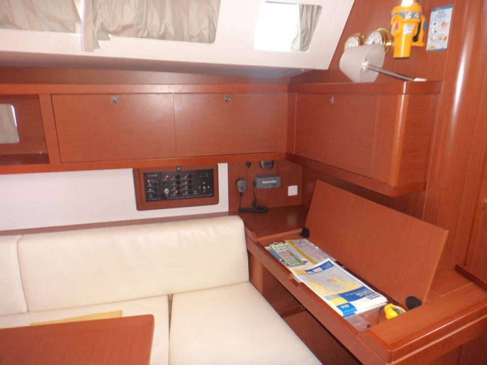 Boat rental Greece cheap Oceanis 45