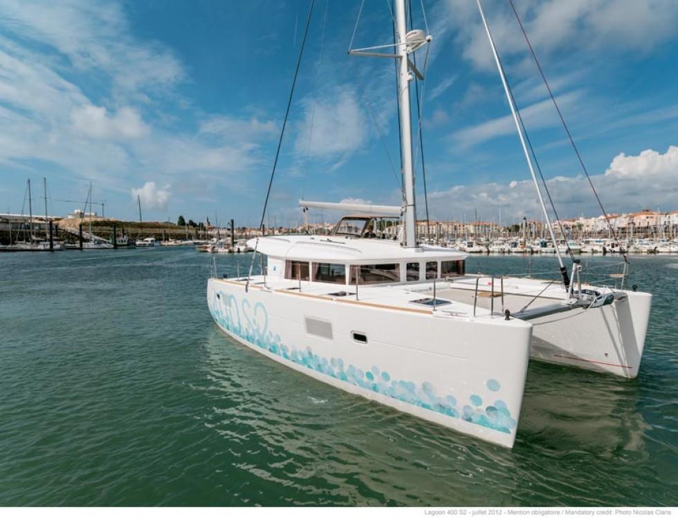 Location yacht à South Abaco - Lagoon Lagoon 400 S2 sur SamBoat