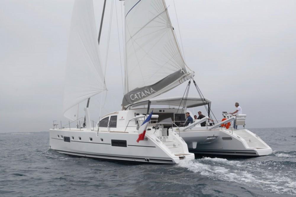 Location bateau Papeete pas cher Catana 55