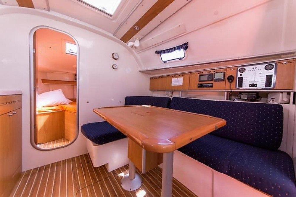 Location bateau Poncin Yachts Harmony 34 à Cos sur Samboat