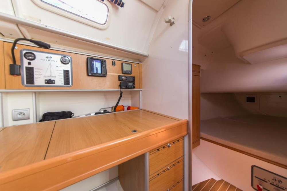 Rental Sailboat Poncin Yachts with a permit