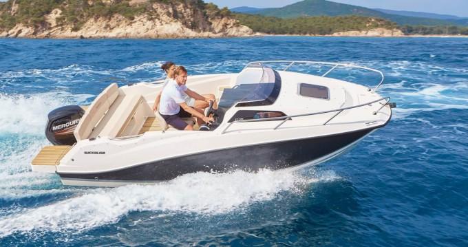 Location yacht à Saint-Laurent-du-Var - Quicksilver Activ 555 Cabin sur SamBoat