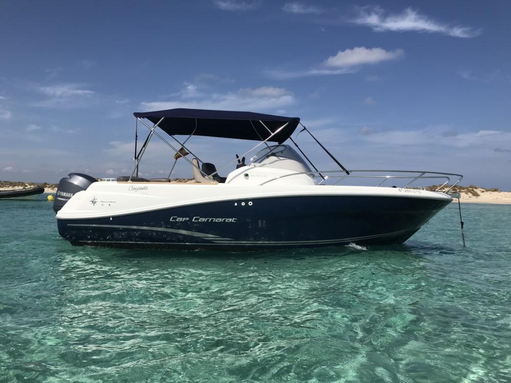 Motorboot te huur in Marina Botafoch voor de beste prijs