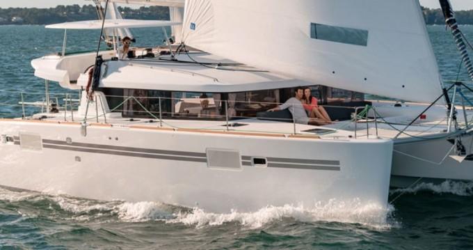 Rental yacht Parikia - Lagoon Lagoon 450 on SamBoat