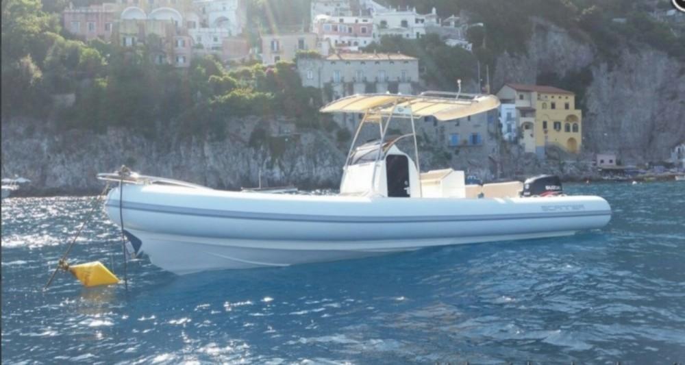 Bootverhuur Salerno goedkoop Scanner 800 D